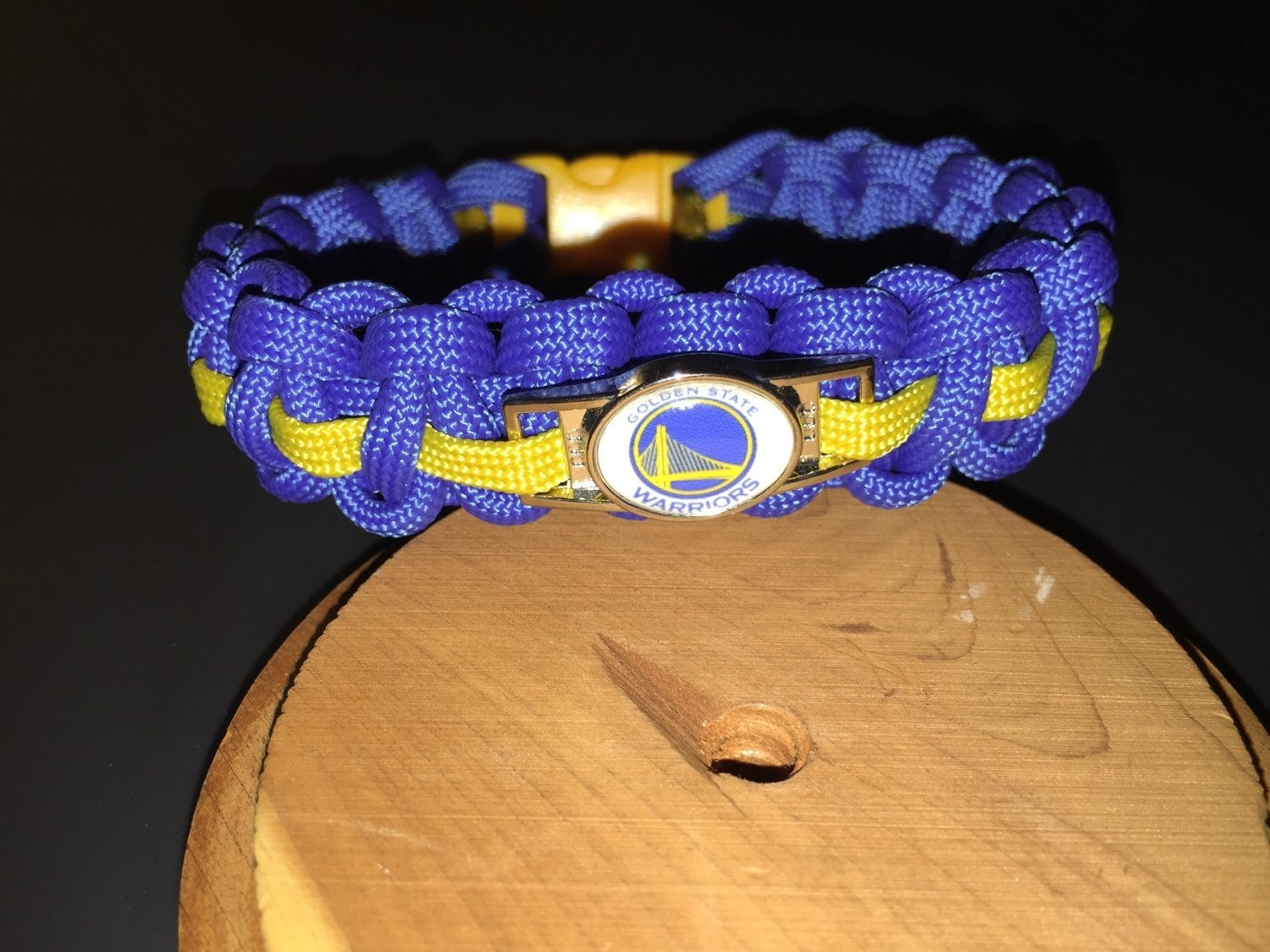 golden state warriors bracelet golden state warriors paracord bracelet w charm by 1598