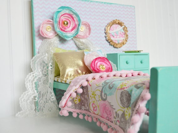 Mint Green And Pink American Girl Furniture American By Head2heart