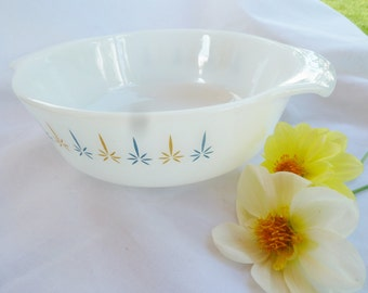 Vintage Candle Glow  casserole dish