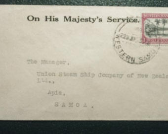 On His Majestys Service Cover