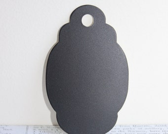 Chalkboard Paper Luggage Tags 10pcs