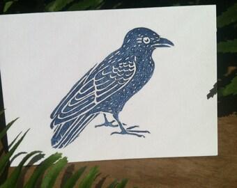 Mini Crow Cards w envelopes, set of 6
