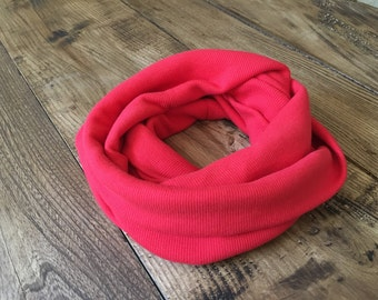 Organic cotton infinity scarf (baby to child)