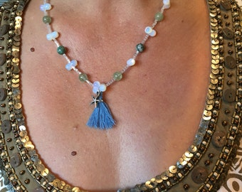 Reve Bleu Necklace