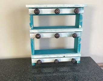 Jewelry storage shelf (Perfect for Rustic cuffs)