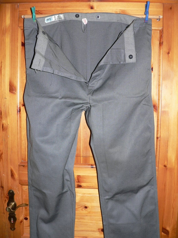 NOS brown work trousers 1930s style deadstock pWqlw4ooj