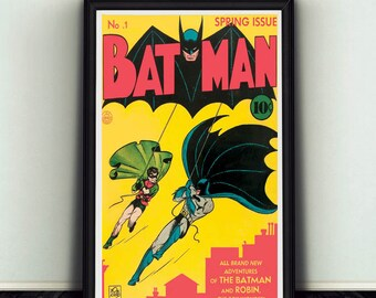 11x17 Batman #1 Comic Book Cover Poster Print