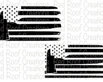 Thin Red Line vector, Thin Red Line svg, American Flag svg, Firemen Flag svg, Support Our Red Families, Thin Red Line Decal, Fireman svg