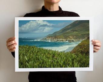 Big Sur Art Print, Landscape California, Northern California