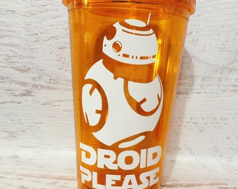 "BB ""Droid Please"" Tumbler"