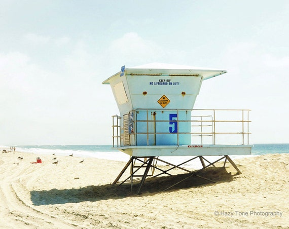 Huntington Beach Wall Decor : Beach decor photography print wall art huntington