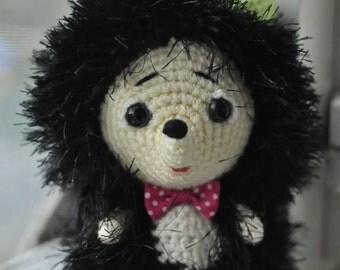 Crochet Hedgehog. Crochet toy. FREE SHIPPING