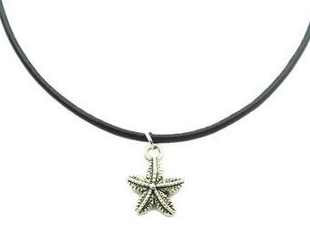 Starfish Charm Choker