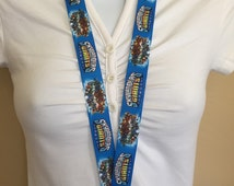 Skylanders Giants lanyard, ID holder, key holder