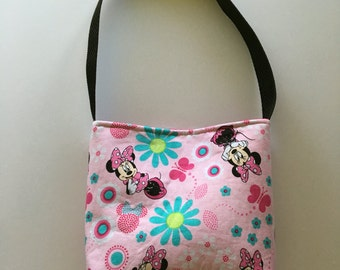 Pink Minnie Mouse toddlers/little girls purse