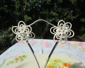 Atomic Vintage Clip Earrings