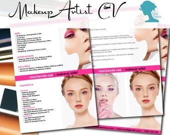 A Makeup Artist Cv - Mugeek Vidalondon