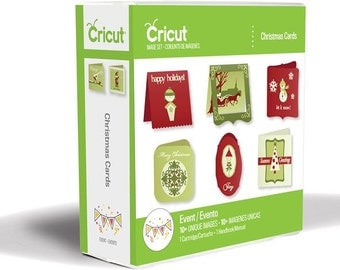 CHRISTMAS CARD Cricut Cartridge.  Factory Sealed and Ready to Ship.