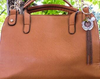 Southwestern purse charm