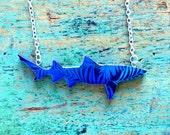 Shark Necklace / Lemon Shark Necklace - Blue Palms