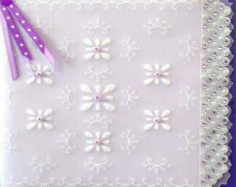 PP4 - Beaded Floral (single pattern)