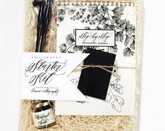 Calligraphy Starter Kit-Everything you need to do your own calligraphy-Hawaii Calligraphy