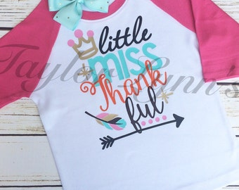 Girls Thanksgiving shirt, girls fall shirt, girls shirt, baby girls shirt, thanksgiving shirt