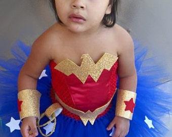 WonderWoman Tutu Costume