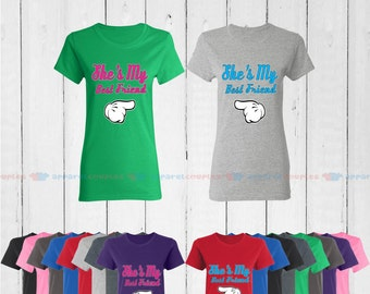 BFF She is My Best Friend - Best Friend Forever Matching T-Shirts - BFF Tees