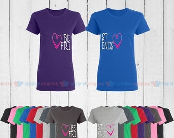 BFF Best Friends - Best Friend Forever Matching T-Shirts - BFF Tees