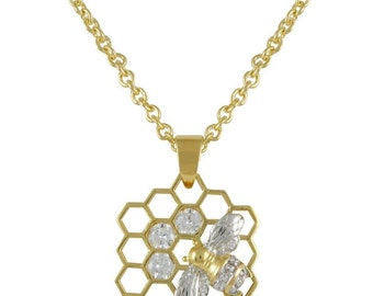 Honey Bee Necklace  N8950T