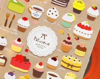 Miam Patisserie Dessert Sticker 1 Sheet