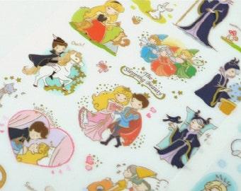 Korean Fairy Tale Story Sticker - The Sleeping Beauty 1 Sheet
