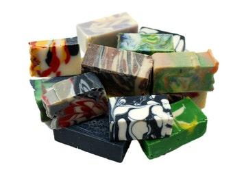 Soap Sample, Bulk Soap, 1 pound Variety, Handmade Bar Soap