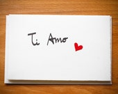 Te Amo card - language of love card