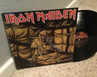 Iron Maiden Piece Of Mind LP Original Press ST-12274