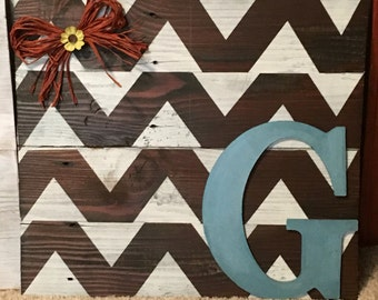Personalized chevron sign