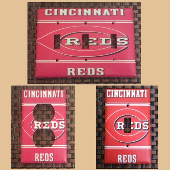 Cincinnati Reds Light Switch Plate Cover HOME DECOR Various