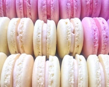 Salted Caramel French Macarons custom colour