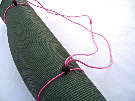 3N1 Yoga Mat Strap, FREE SHIPPING On All U.S. Orders- Cherry Blossom Pink- Yoga Mat Sling, Yoga Mat Carrier, Yoga Mat Holder, Yoga Mat Tote