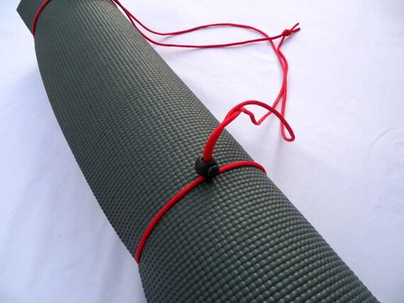 3N1 Yoga Mat Strap, FREE SHIPPING On All U.S. Orders- Paintbrush Red- Yoga Mat Sling, Yoga Mat Carrier, Yoga Mat Holder, Yoga Mat Tote