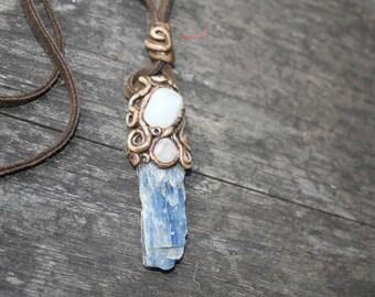 Mini Kyanite Healers necklace