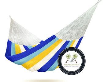 Coastal Hammock - 100% Hand Woven - Pelican Hammocks