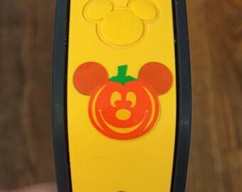 Pumpkin Mickey Magic Band Vinyl Decal