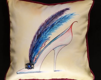 Feather Shoe Pillow