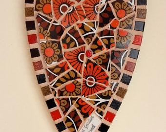 Bristol Garden Mosaic Heart