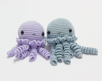 Crocheted Jellyfish Amigurumi