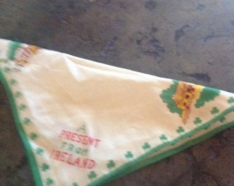 A  Present from Ireland Vintage Hanky!