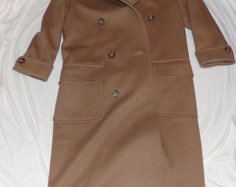 Jones New York Woman's High Fashion Wool Coat Union Made in the USA Vintage Find! Size 6