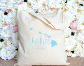 Hawaii Aloha Destination Wedding Welcome Bag - Maui Destination Wedding Bag